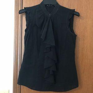 Antonio melani XS black fitted, semi sheer